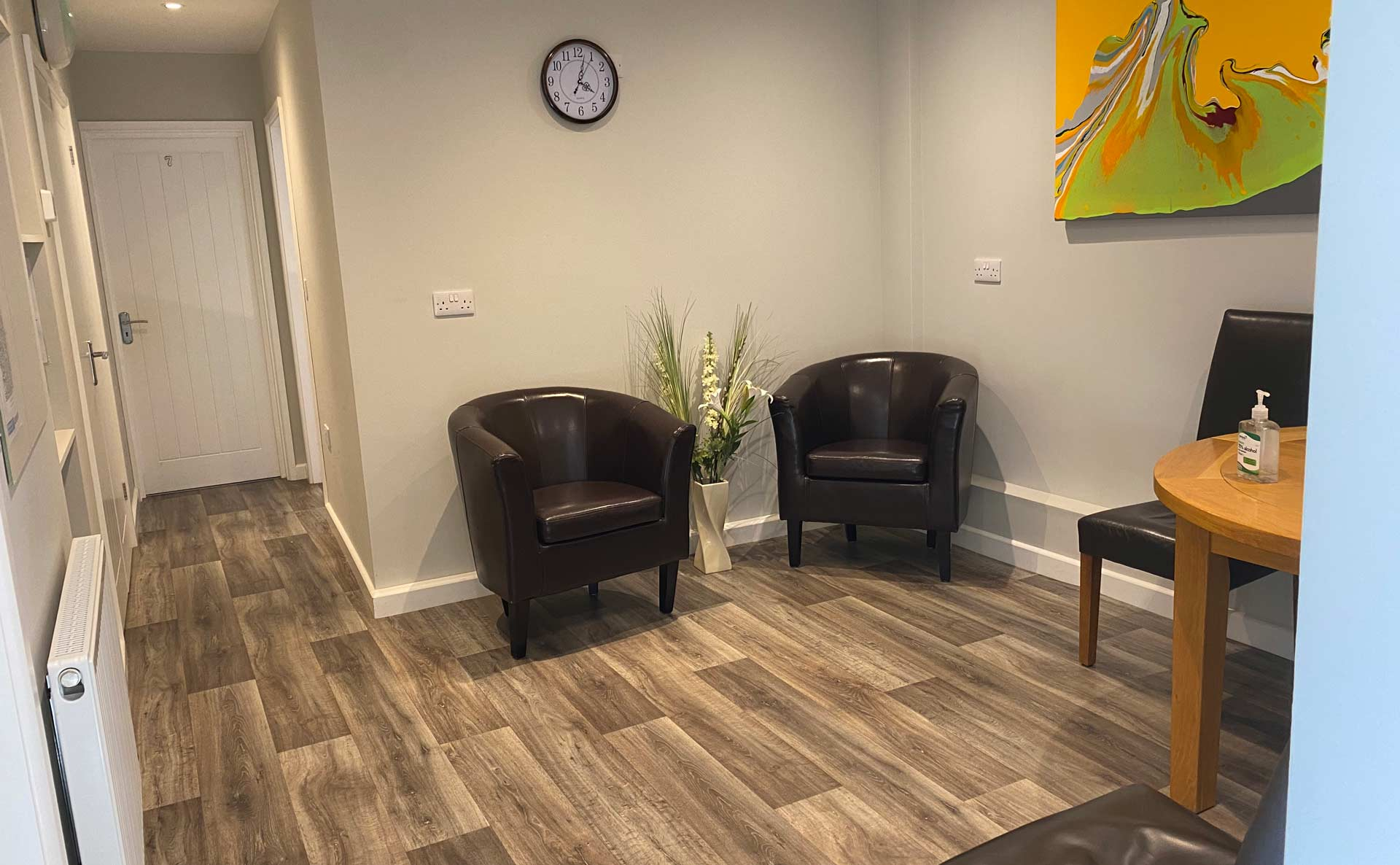 Ashcroft Therapy Centre interior
